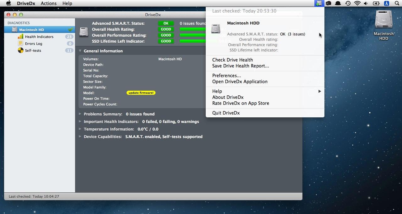 ssd ファームウェア アップデート mac