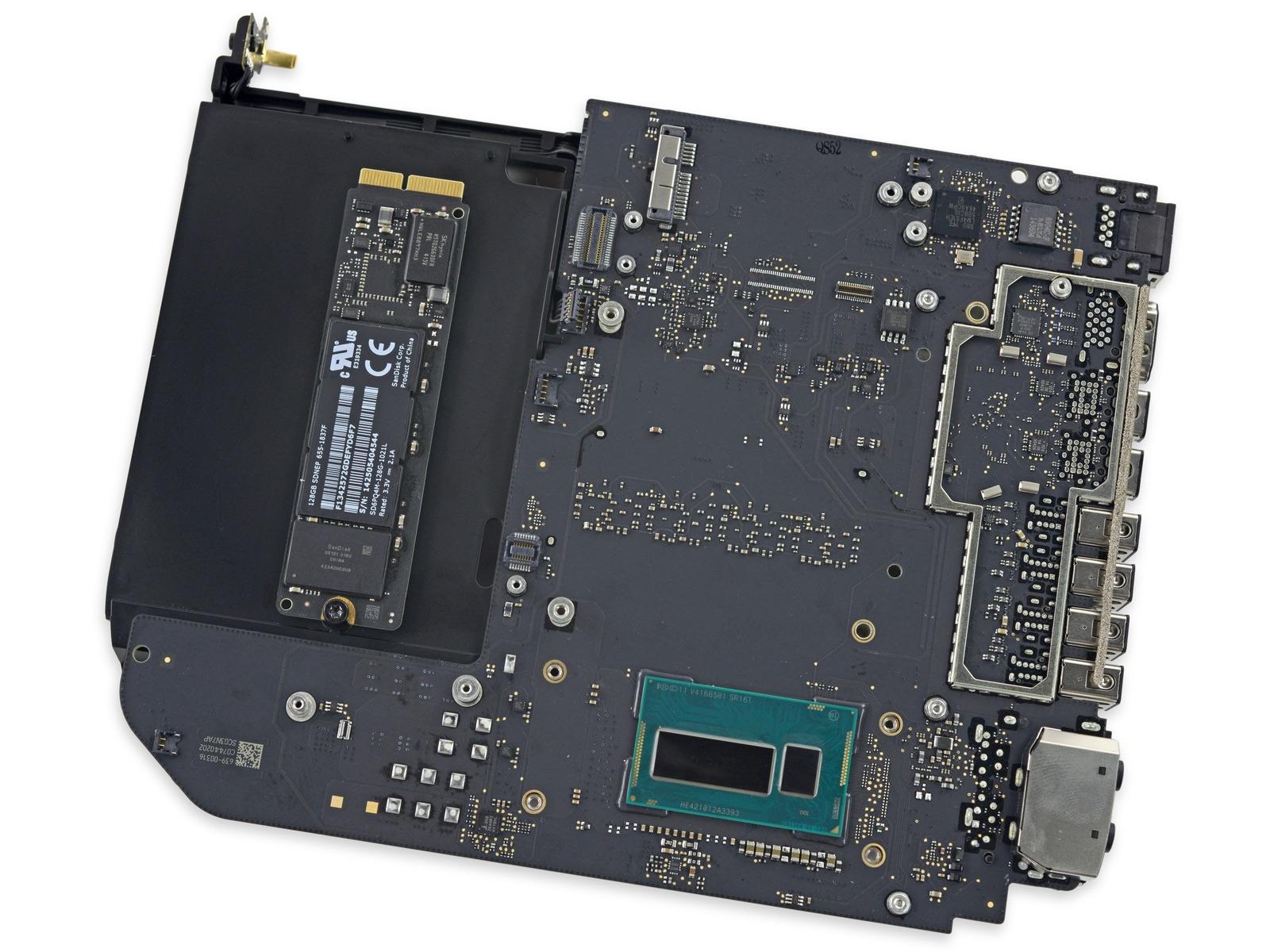 Mac mini (Late 2014)のマザーボード