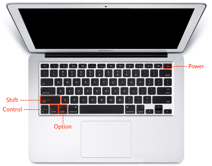 MacBook AirのSMCリセット