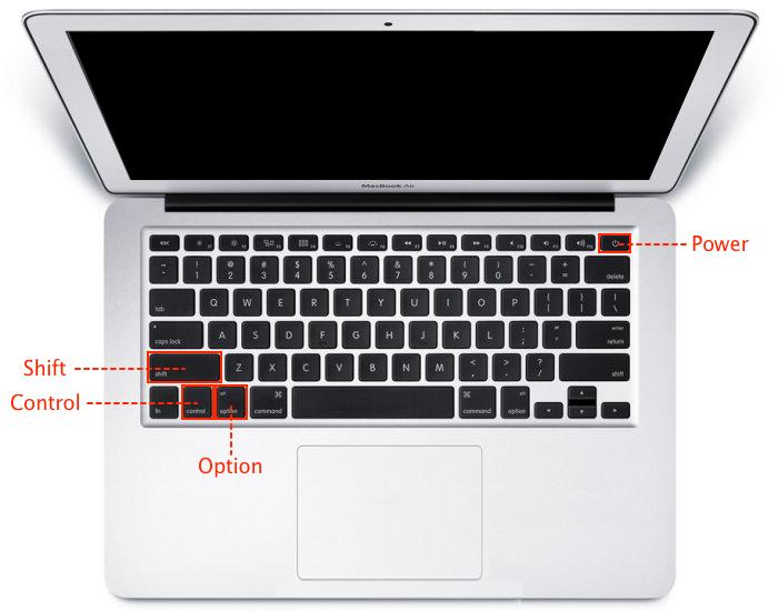 MacBook AirのSMCリセット