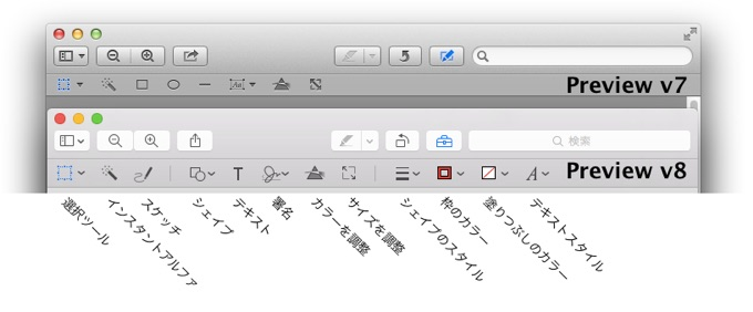 OS X 10.10 Yosemiteのプレビュー