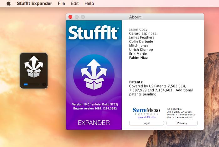 StuffIt Expander 16