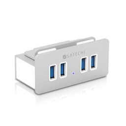 Satechi Aluminum Clamp Hub Premium 4-Port USB 3.0