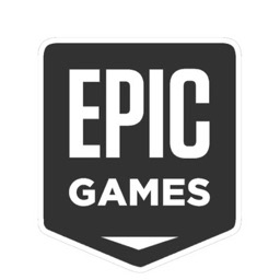 Epic Gamesのロゴ