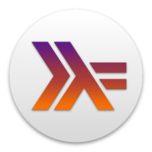 Haskell for Macのアイコン。