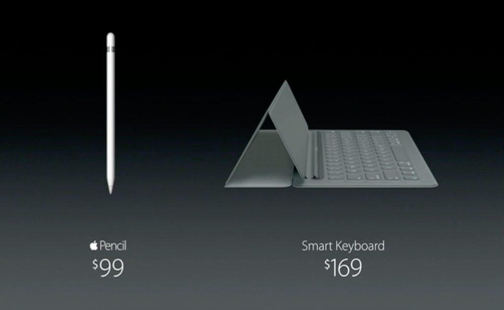 Apple Pencilの価格とSmart Keyborad