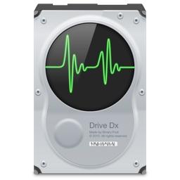 S.M.A.R.T.ユーティリティ「DriveDx」のアイコン。