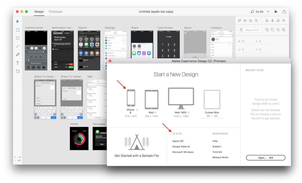 Adobe-XD-UI-Kits