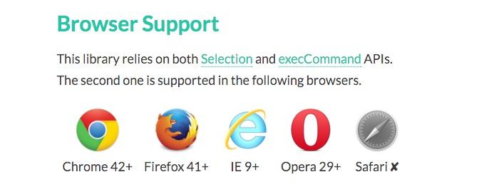 Browser-clipboard-js-execCommand-API