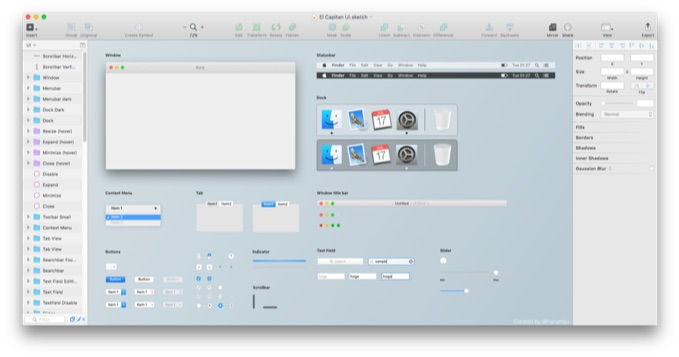 El-Capitan-UI-Kit-for-Sketch-img1