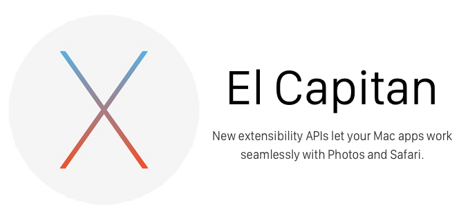 OS X 10.11 El Capitan Hero