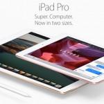 Apple、Apple Pencilをサポートした9.7インチの「iPad Pro」を発表。