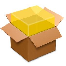 macOSのパッケージインストーラのアイコン。