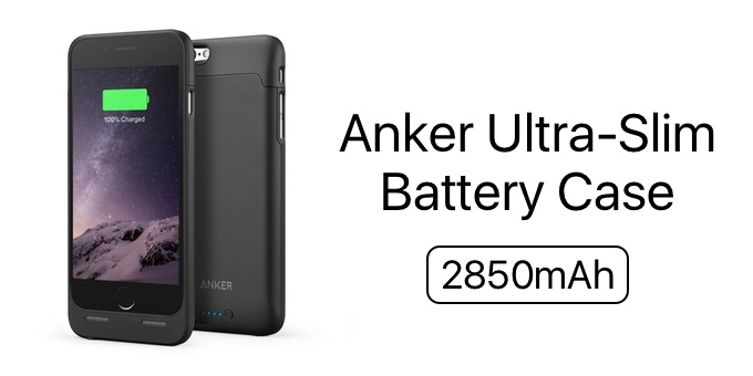 Ultra-Slim Battery Case for iPhone