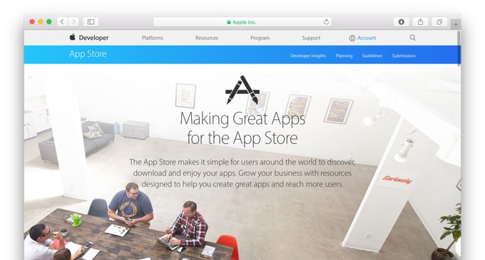 Apple-developer-resource-site-Hero