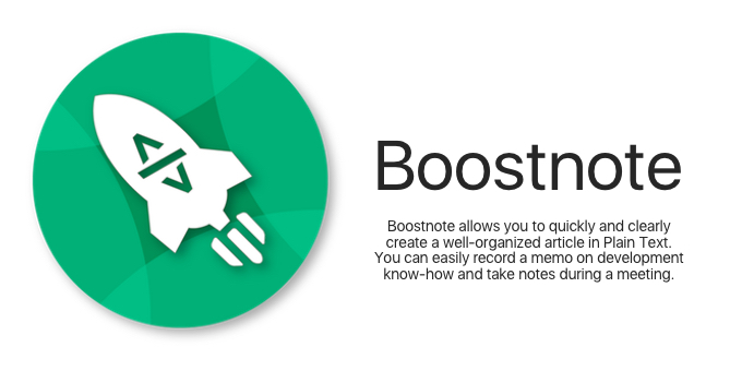 Boostnote Hero