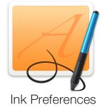 Macにグラフィックタブレットを接続すると利用できる「Ink」メニューを、タブレットデバイスの接続無しで利用する方法。