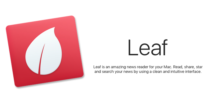 Leaf-RSS-News-Reader-Hero