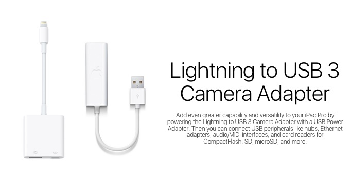Lightning to USB 3 Camera Adapter