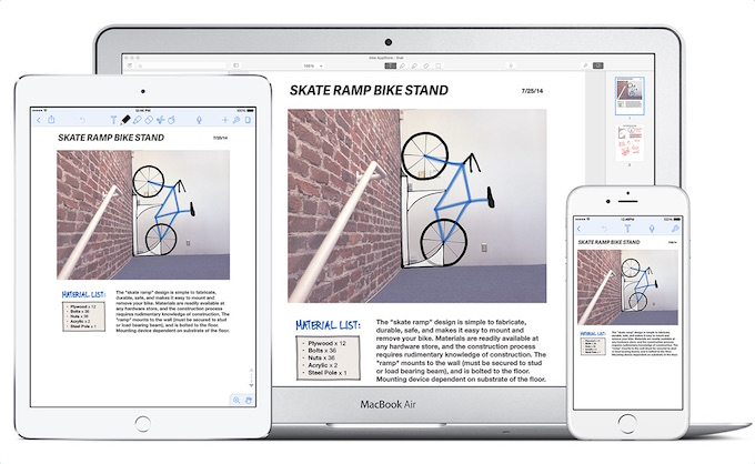 Notability for Mac and iOS