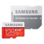 Amazonの特選タイムセールとしてSamsung microSDXCカードEVO+容量128GBモデルが特別価格で販売中。
