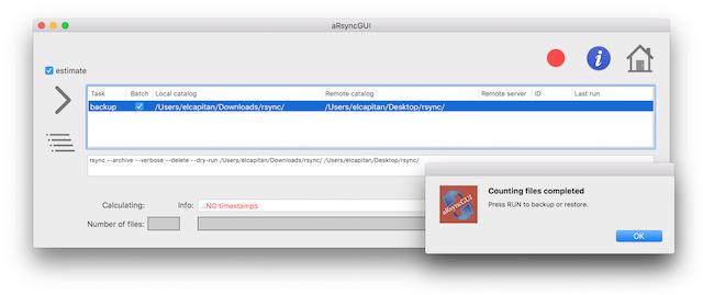 aRsyncGUI-run-window