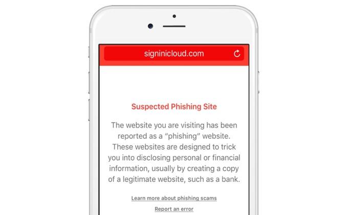iCloud-phishing-site-block