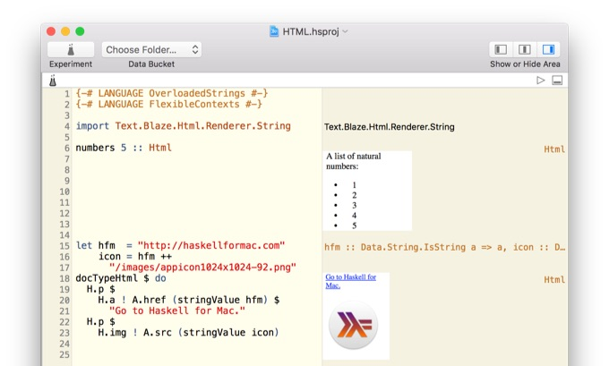 Haskell-for-Mac-HTML-in-Playground-1