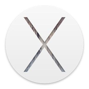 OS X 10.10 Yosemiteのロゴ