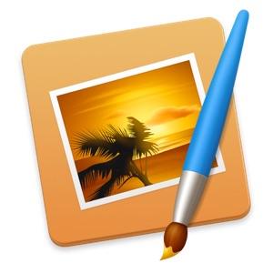 Mac用グラフィックスツール「Pixelmator」のアイコン。
