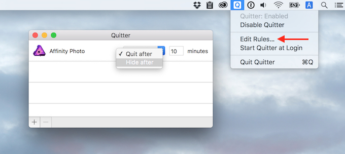 Quitter-for-Mac-Settings