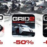 Feral、レーシングゲーム「GRID」シリーズの3タイトルを最大60%OFFで販売するセールをMacAppStoreで開催中。