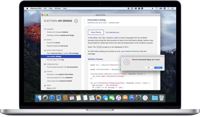 GitHub-Electron-APIs-App