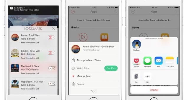 Lookmark-support-mac-apps