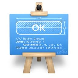 PaintCodeのアイコン。