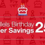 Parallels、Parallels Desktop for Mac発売10周年を記念して各エディションを25%OFFで販売する「バースデイ大幅割引」を6月21日まで開催。