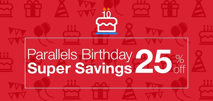Parallels-desktop-for-mac-birthday-sale-25off