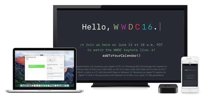 WWDC-2016-Mac-iPhone-AppleTV