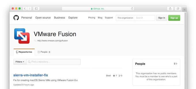 Welcome-VMware-Fusion-on-GitHub