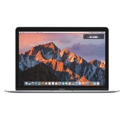 macOS Sierraを搭載したMacBookのロゴ。