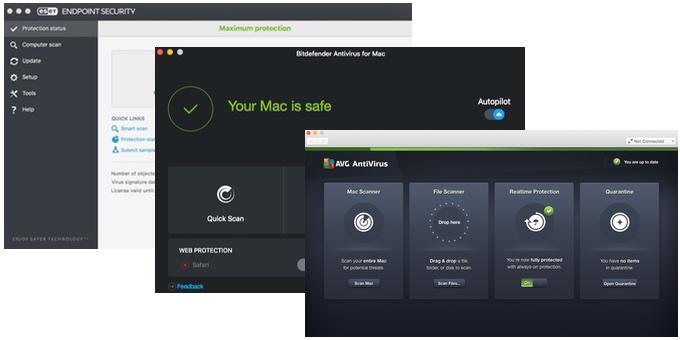 Bitdefender-ESET-AVG-App