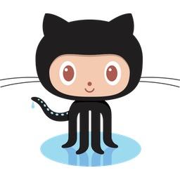 GitHubのロゴ。