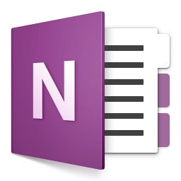 Microsoft OneNote for Macのアイコン。