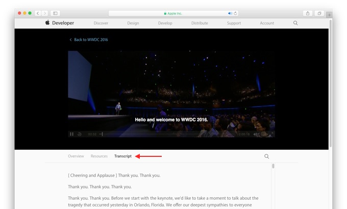 WWDC-2016-Transcripts-Tag