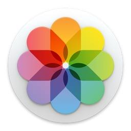 Appleの写真アプリのアイコン。