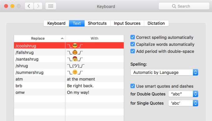 macOS-Sierra-Keyboard-Text-input