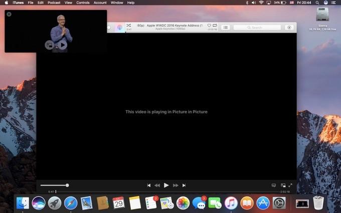 macOS-Sierra-PinP-work-iTunes-v12-5