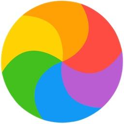 Spinning-pinwheel-logo-icon