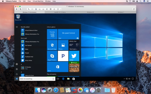 VMware-Fusion-v8-5-support-macos-sierra