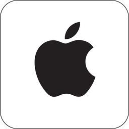 AppleのTwitterアバター。
